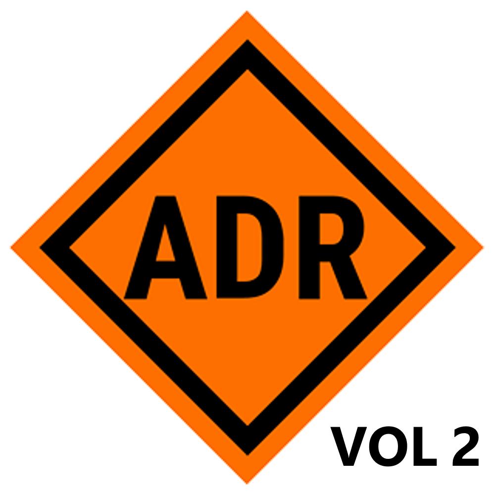 Logo de l'ADR volume 2
