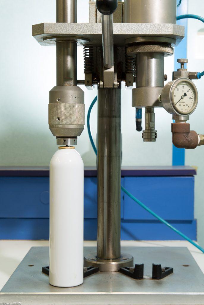 Pression generateur d'aerosol